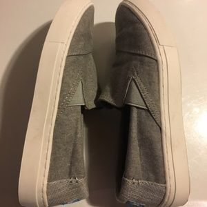 Toms Luca Slip-On Sneakers Gray